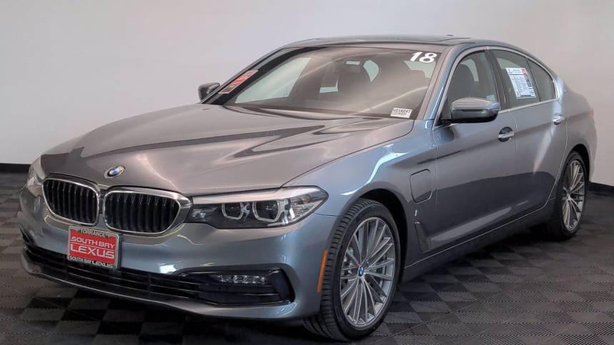 2018 BMW 5 Series WBAJA9C57JG622825