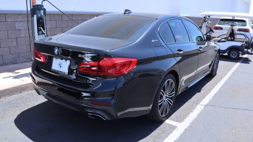2018 BMW 5 Series WBAJA9C50JB250807