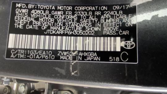 2017 Toyota Prius Prime JTDKARFP6H3050202