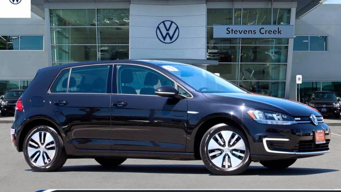 2019 Volkswagen e-Golf WVWKR7AU5KW909456