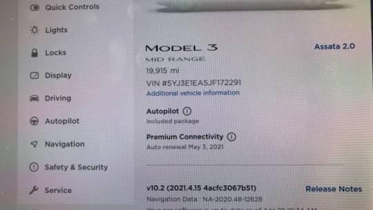 2018 Tesla Model 3 5YJ3E1EA5JF172291