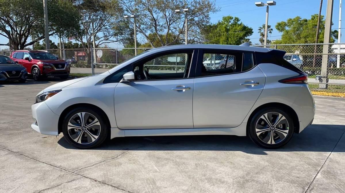2021 Nissan LEAF 1N4AZ1CV0MC552275