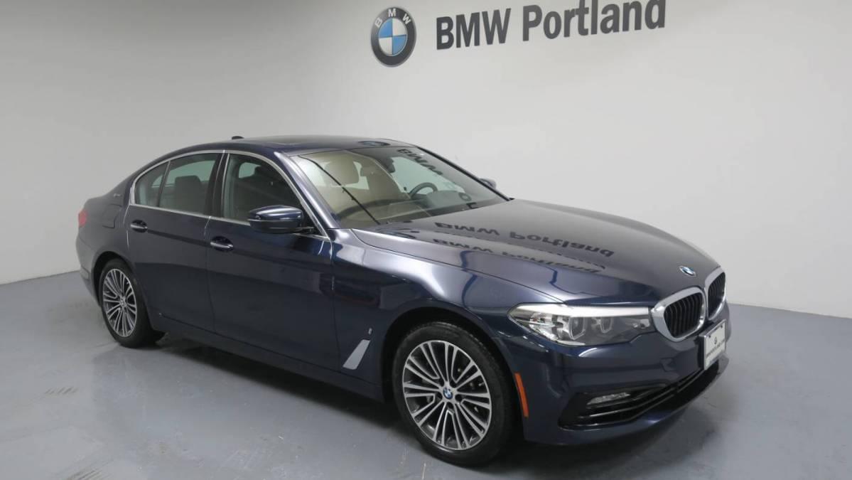 2018 BMW 5 Series WBAJB1C54JB083737