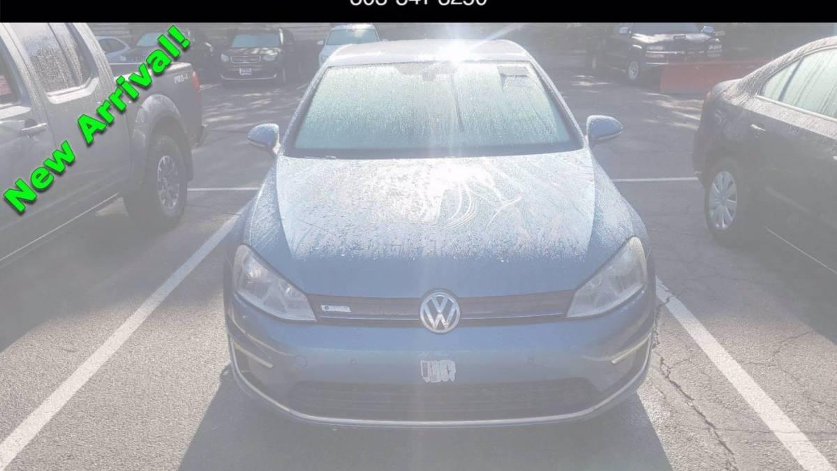 2015 Volkswagen e-Golf WVWKP7AU5FW909680
