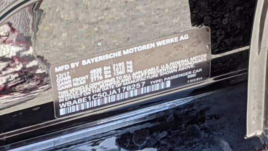 2018 BMW 3 Series WBA8E1C50JA178257