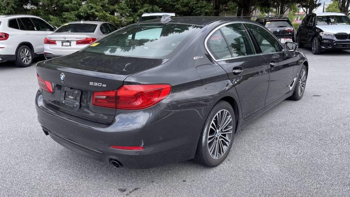 2018 BMW 5 Series WBAJB1C50JB083783