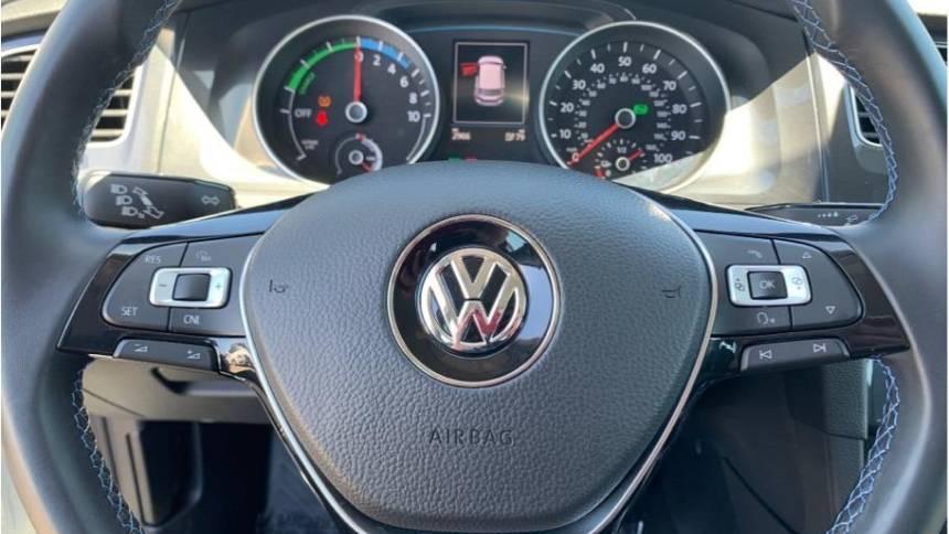 2017 Volkswagen e-Golf WVWKR7AU6HW954592