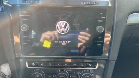 2017 Volkswagen e-Golf WVWKR7AU6HW950722