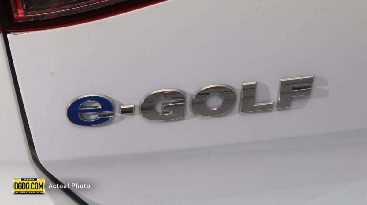 2016 Volkswagen e-Golf WVWKP7AU3GW902888