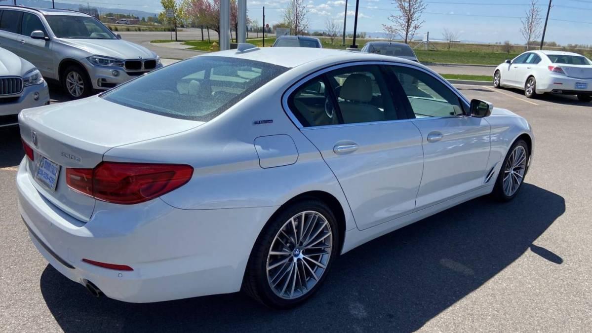 2018 BMW 5 Series WBAJB1C5XJB084763