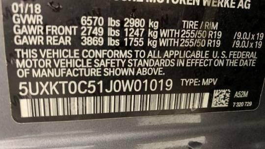 2018 BMW X5 xDrive40e 5UXKT0C51J0W01019