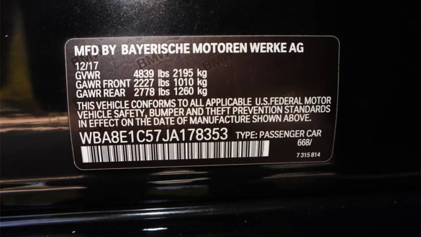 2018 BMW 3 Series WBA8E1C57JA178353