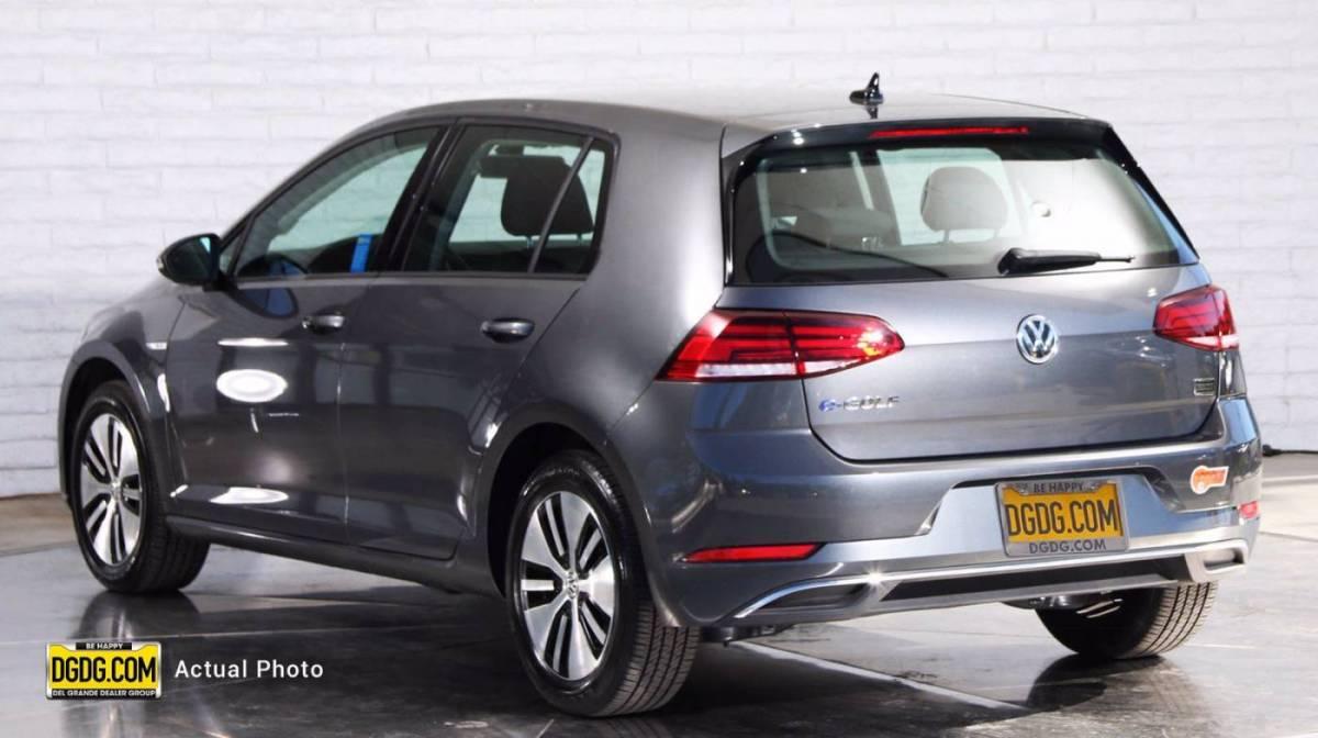 2019 Volkswagen e-Golf WVWKR7AU0KW919022