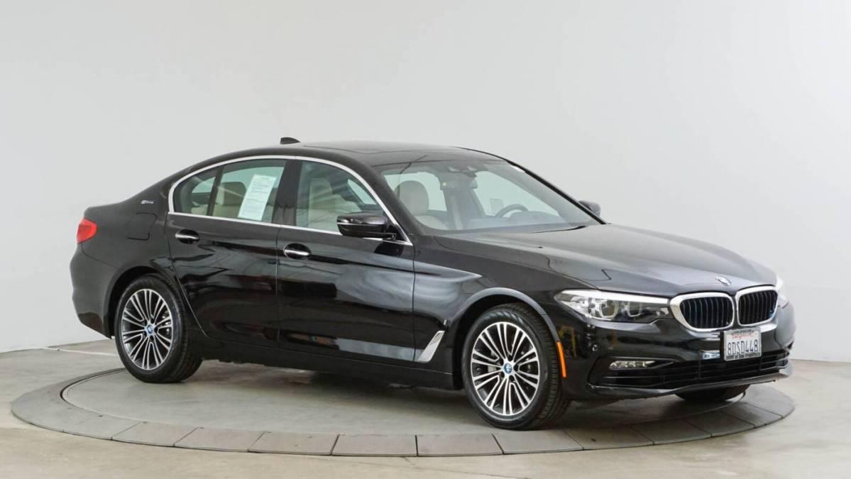 2018 BMW 5 Series WBAJA9C52JB250405