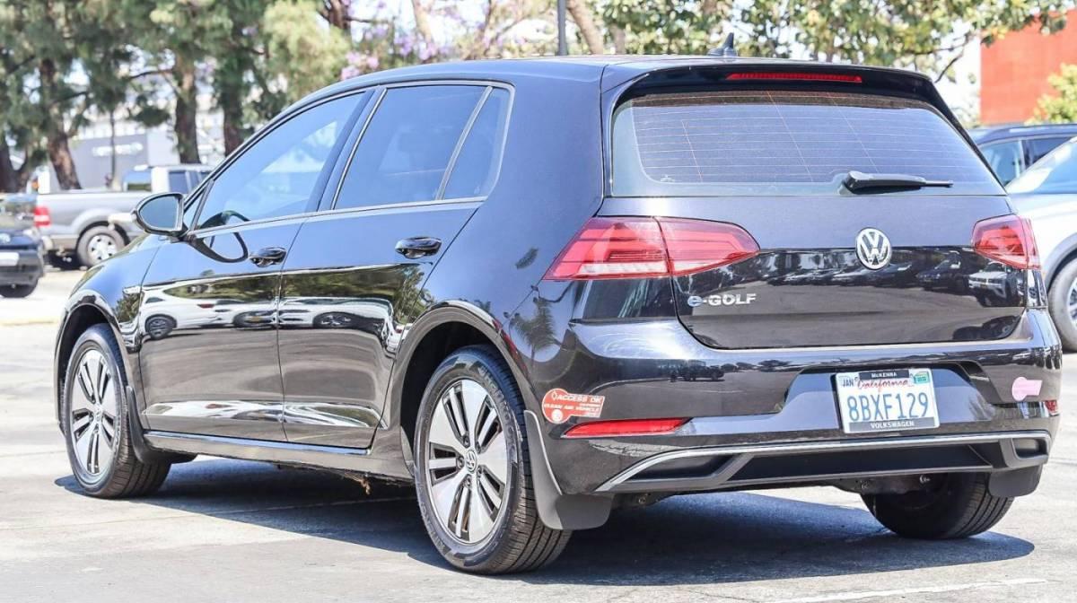 2017 Volkswagen e-Golf WVWKR7AUXHW953719