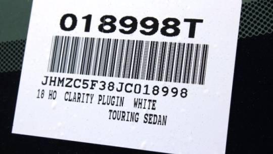 2018 Honda Clarity JHMZC5F38JC018998