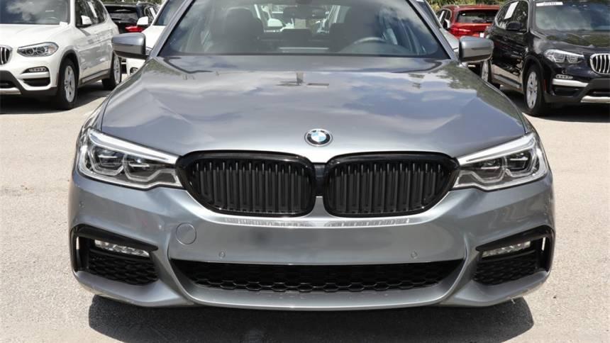 2018 BMW 5 Series WBAJB1C56JB085473