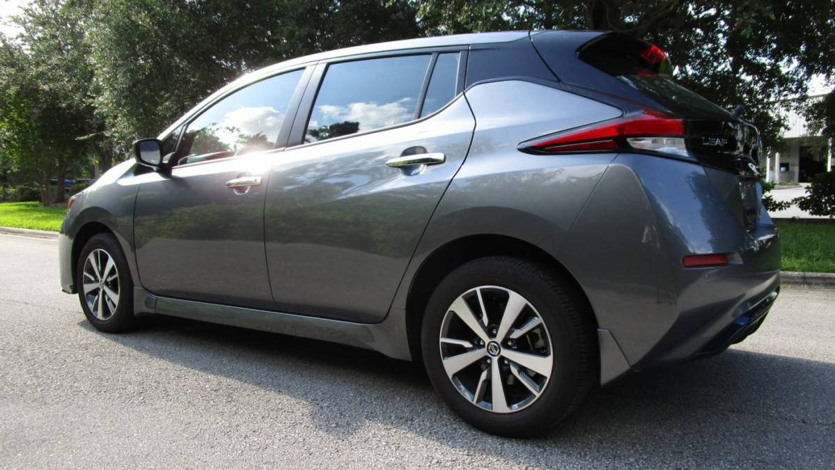 2021 Nissan LEAF 1N4BZ1BVXMC551382