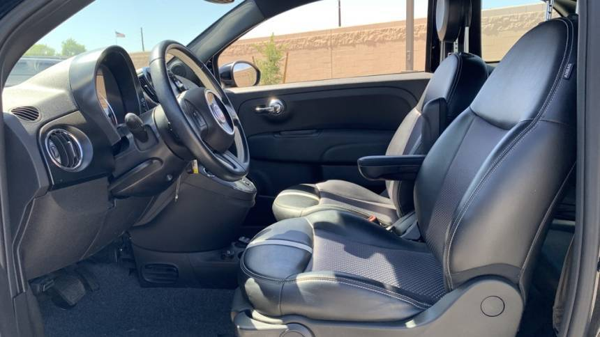 2017 Fiat 500e 3C3CFFGE2HT625163