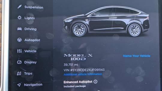 2018 Tesla Model X 5YJXCDE2XJF091143