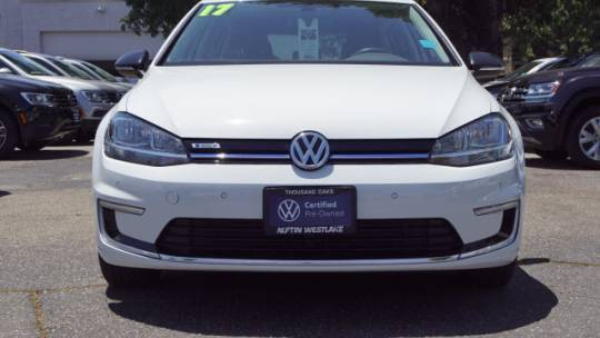 2017 Volkswagen e-Golf WVWMR7AUXHW954765