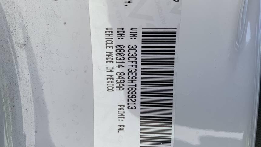 2017 Fiat 500e 3C3CFFGE9HT699213