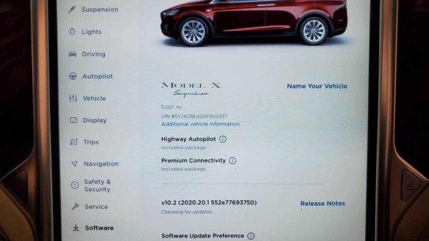 2016 Tesla Model X 5YJXCBE42GFS00337