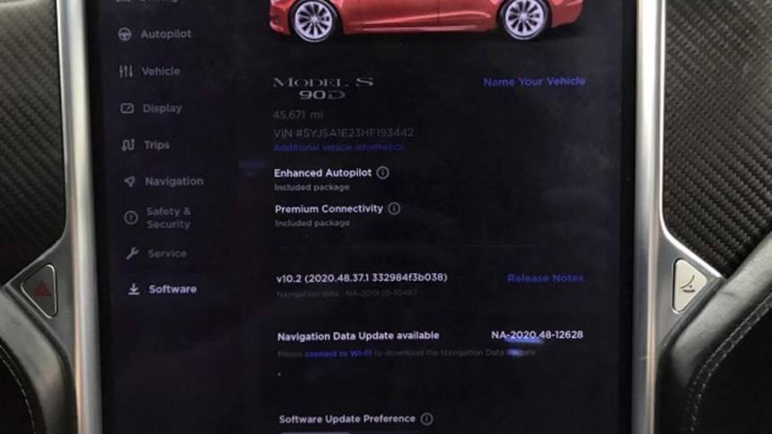 2017 Tesla Model S 5YJSA1E23HF193442