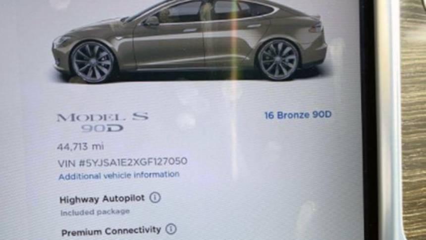 2016 Tesla Model S 5YJSA1E2XGF127050