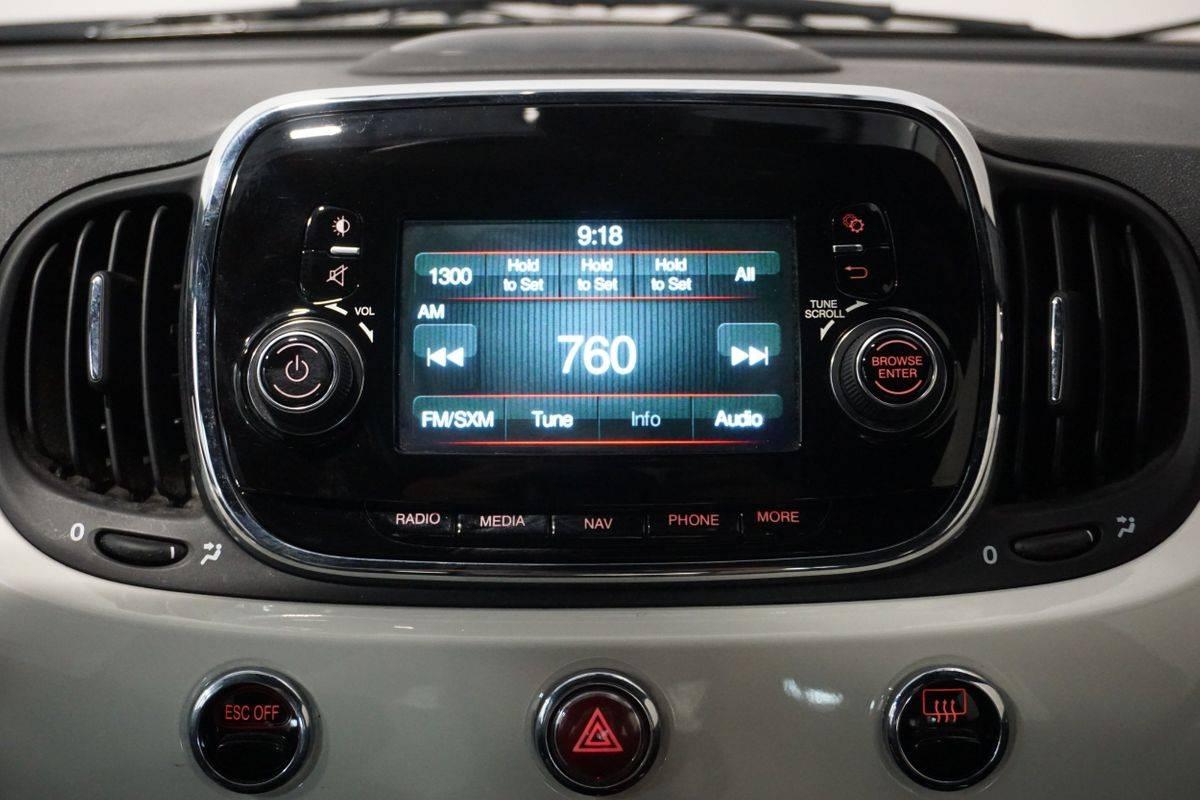 2017 Fiat 500e 3C3CFFGE2HT600649