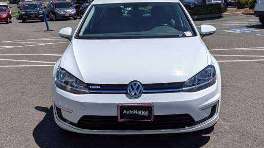 2018 Volkswagen e-Golf WVWKR7AU4JW907468