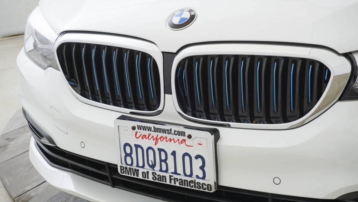 2018 BMW 5 Series WBAJA9C56JB249600