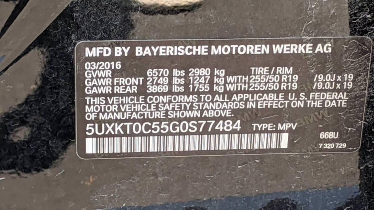 2016 BMW X5 xDrive40e 5UXKT0C55G0S77484