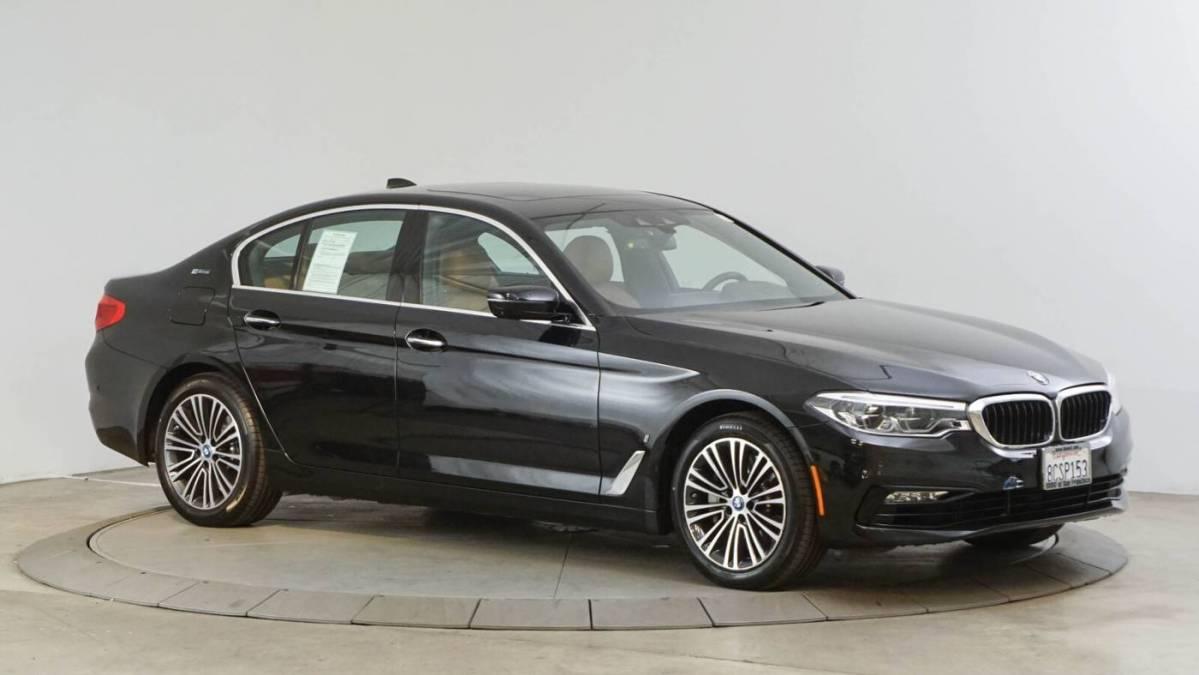 2018 BMW 5 Series WBAJA9C55JB249409