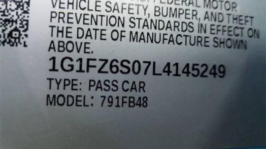 2020 Chevrolet Bolt 1G1FZ6S07L4145249