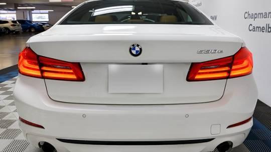 2018 BMW 5 Series WBAJB1C58JG624260