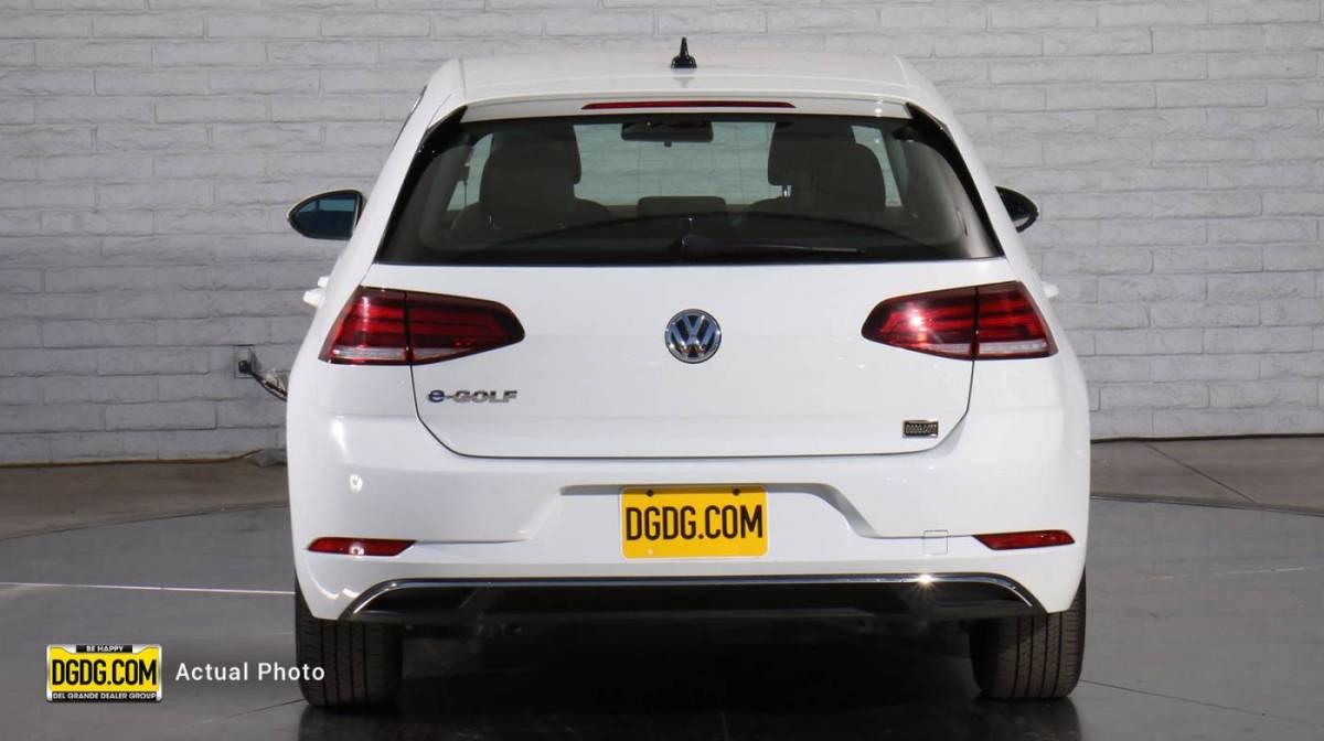 2019 Volkswagen e-Golf WVWKR7AU6KW908185