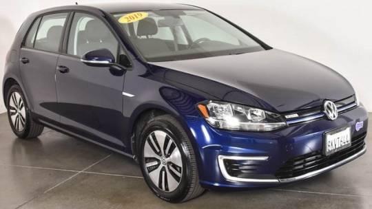 2019 Volkswagen e-Golf WVWKR7AU9KW908018