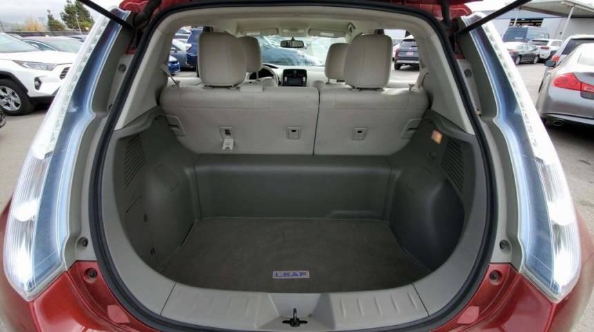 2011 Nissan LEAF JN1AZ0CP0BT007487