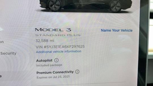 2019 Tesla Model 3 5YJ3E1EA6KF297625