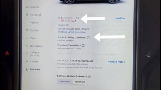 2019 Tesla Model X 5YJXCBE43KF144899