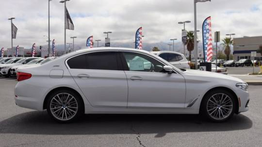 2018 BMW 5 Series WBAJA9C56JB249435