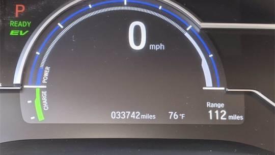 2018 Honda Clarity JHMZC5F31JC020737