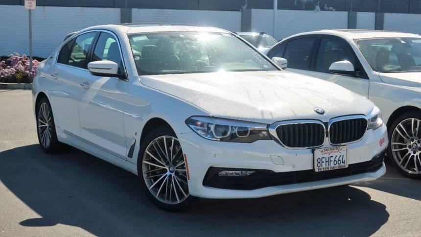 2018 BMW 5 Series WBAJA9C53JB251191