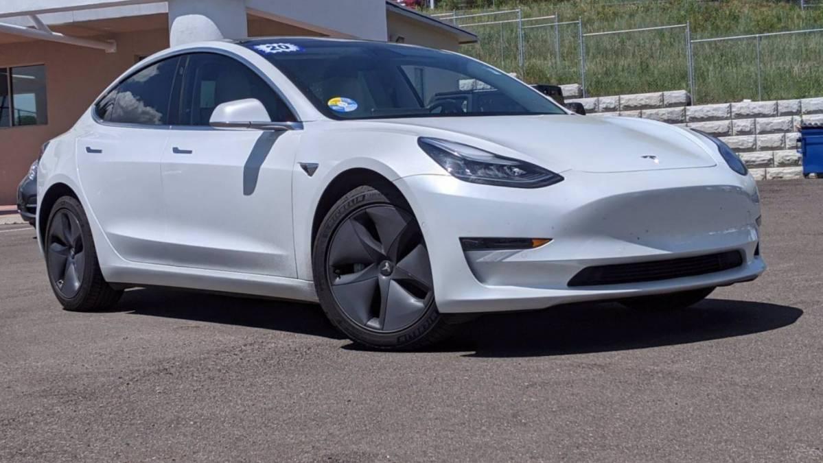 2020 Tesla Model 3 5YJ3E1EB0LF651536