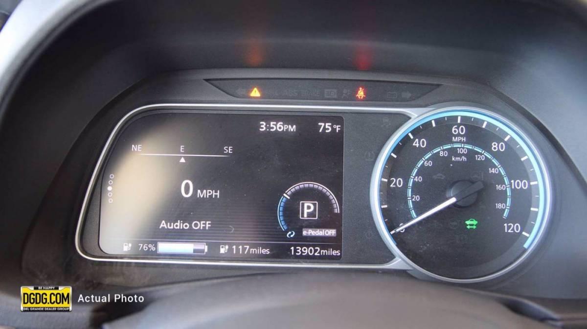 2019 Nissan LEAF 1N4AZ1CP0KC306406