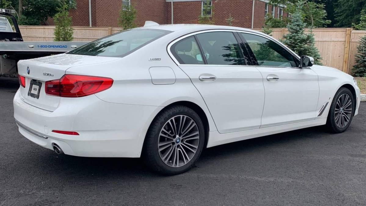 2018 BMW 5 Series WBAJB1C53JB374651