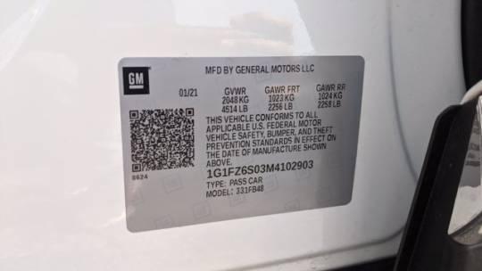 2021 Chevrolet Bolt 1G1FZ6S03M4102903