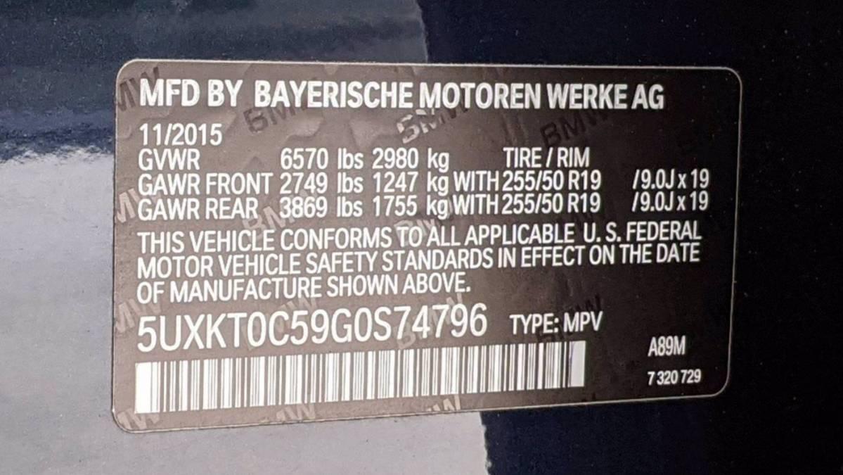 2016 BMW X5 xDrive40e 5UXKT0C59G0S74796
