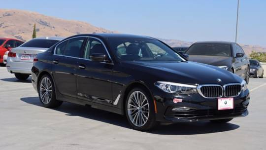 2018 BMW 5 Series WBAJA9C52JB251070